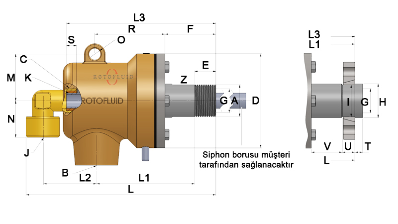 WEB-ROTOFLUID-ROTARY JOINT-200-DIM-DUAL RSP TYPE