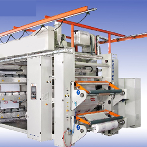 WEB-ROTOFLUID-APPLICATION-PACKAGING-FLEXO PRINTING MACHINE